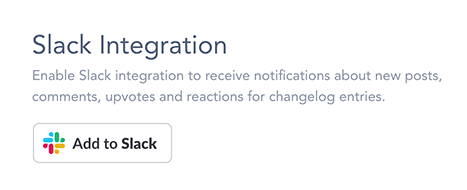 Connect Slack